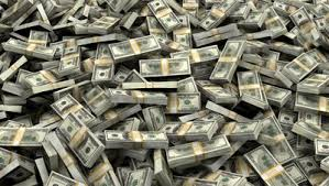 tas d'argent