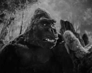 gorille & dame